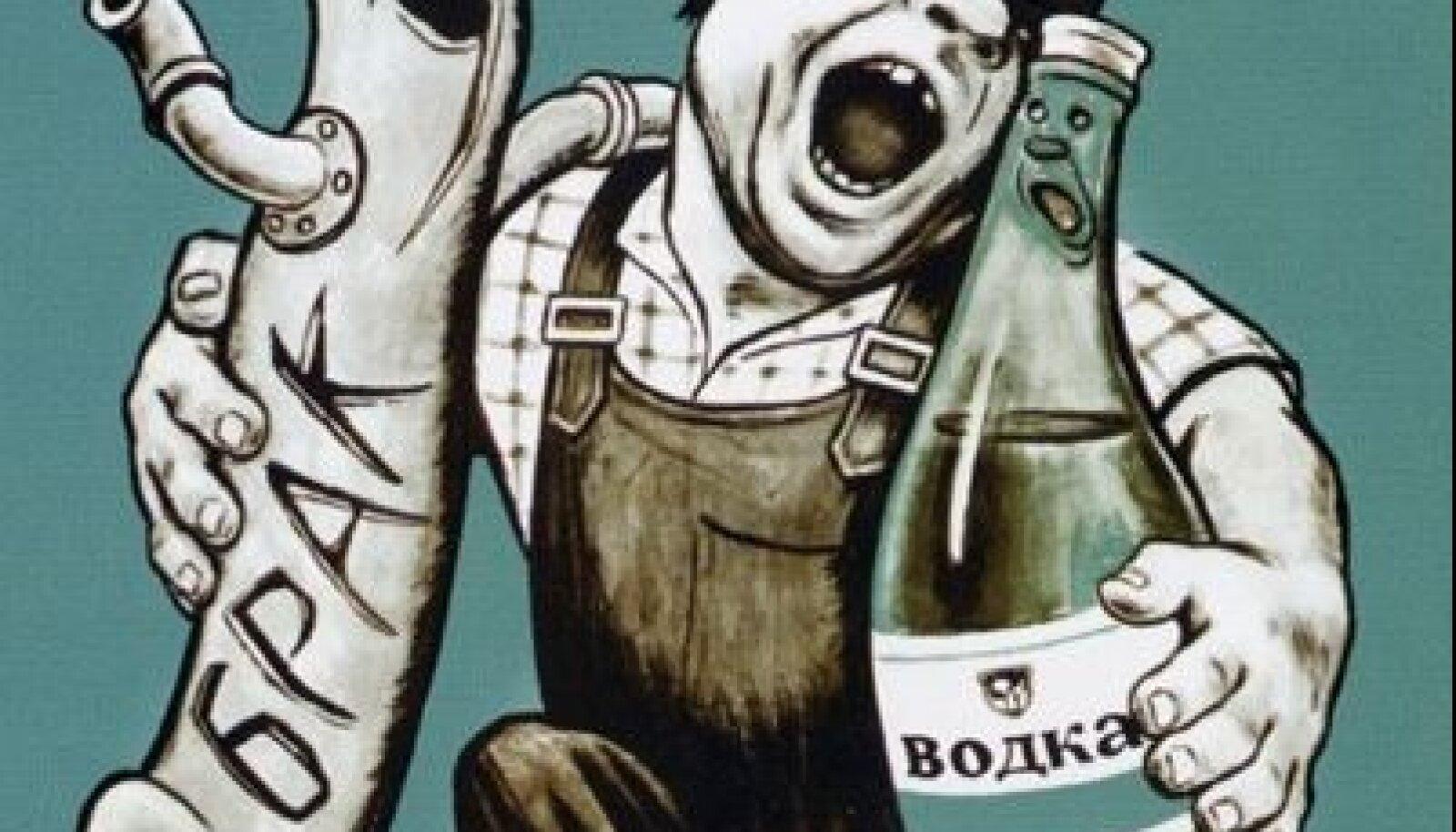Majakovski: Ajame joodikud tööliste seast välja!