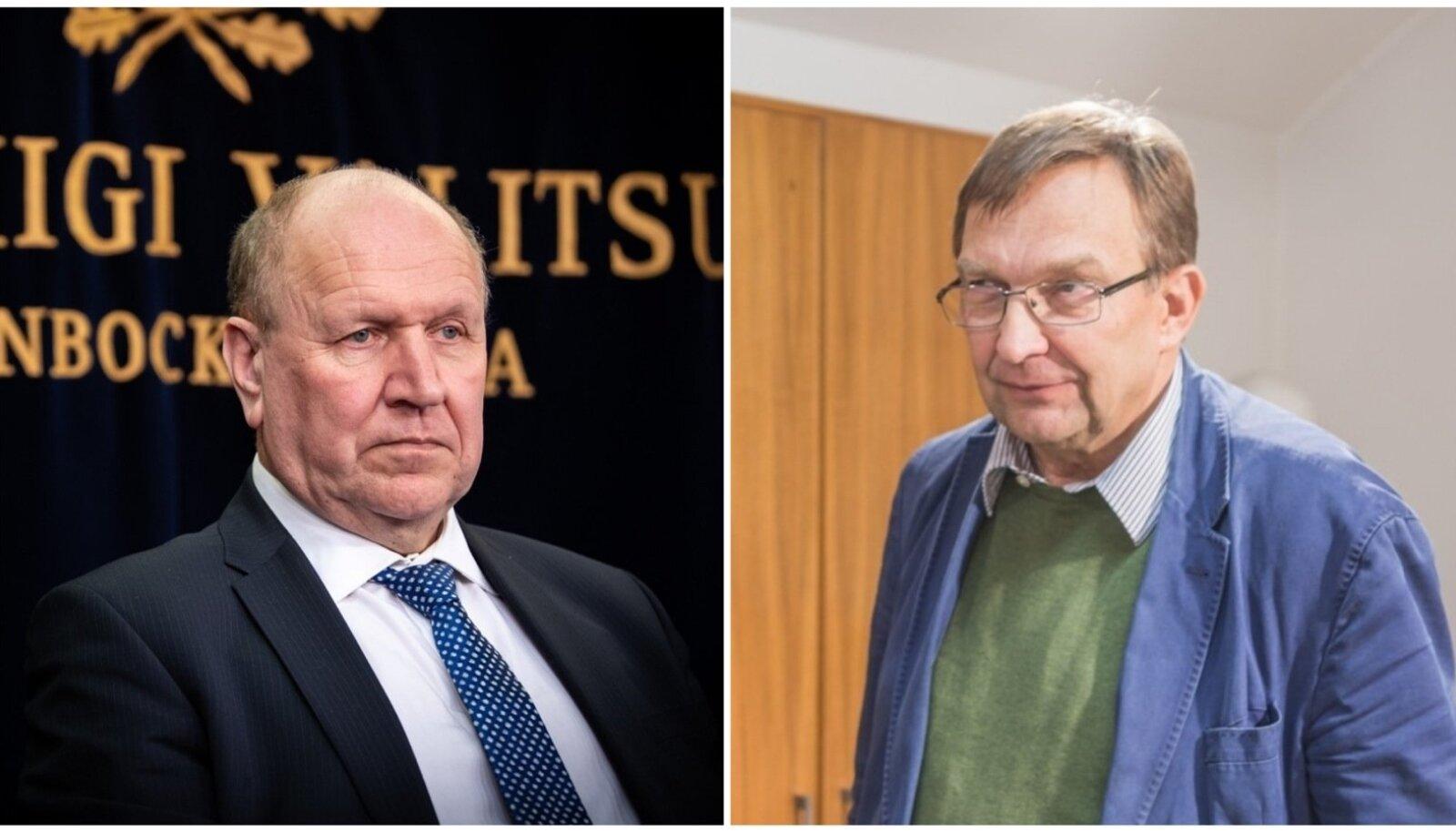 Mart Helme ja Urmas Sutrop