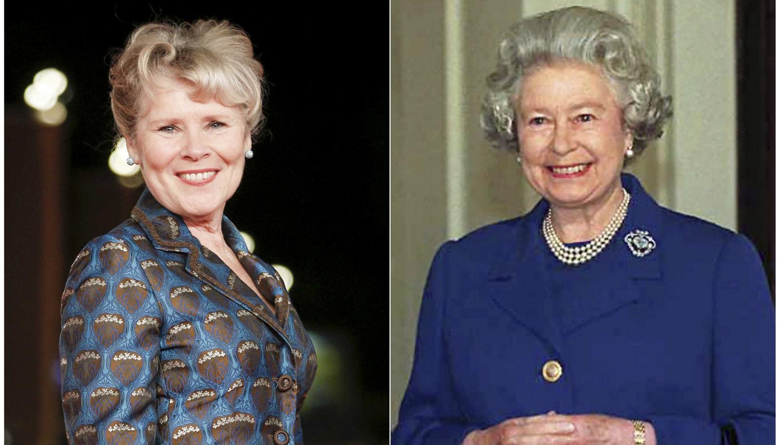 Imelda Staunton ja kuninganna Elizabeth II