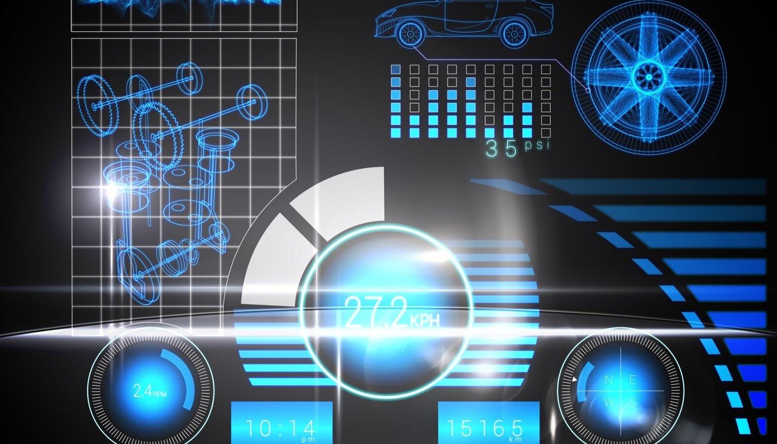 Möödunud aastal toodeti maailmas 17 miljonit autot, millele oli navigatsioonisüsteem juba tehases paigaldatud.