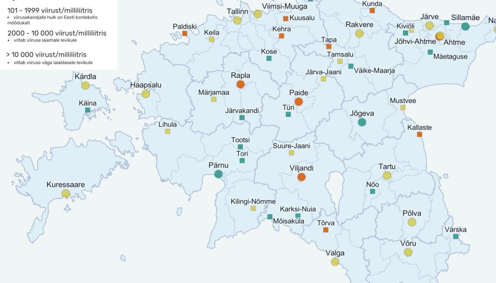 Reoveeuuringu tulemused 16.-20. augustil