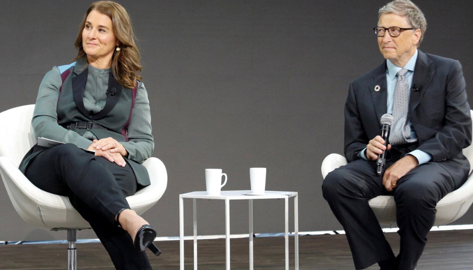 Melinda ja Bill Gates, 2017
