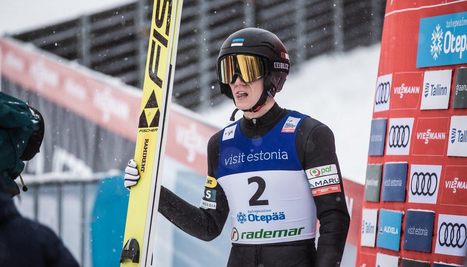 Kristjan Ilves 2019. aasta Otepää MK-etapil.