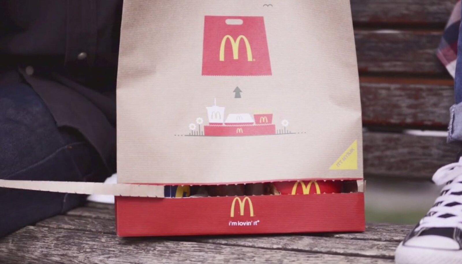 McDonald'si uus kott.