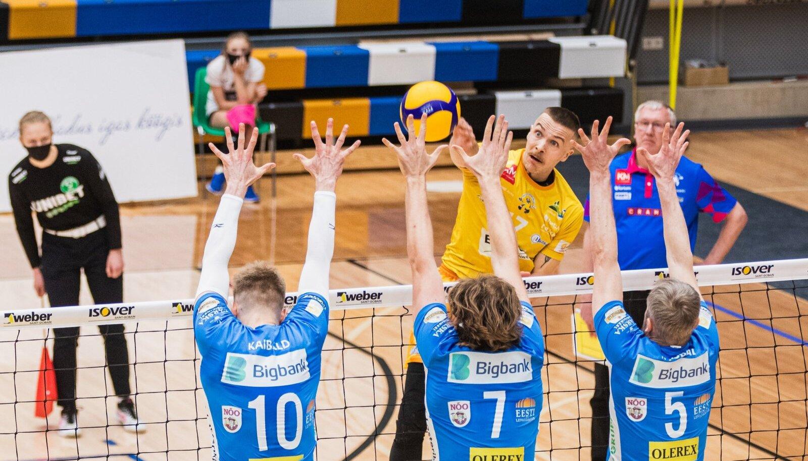Tartu Bigbank oli täna Pärnust ja Atvars Ozolinšist selgelt üle.
