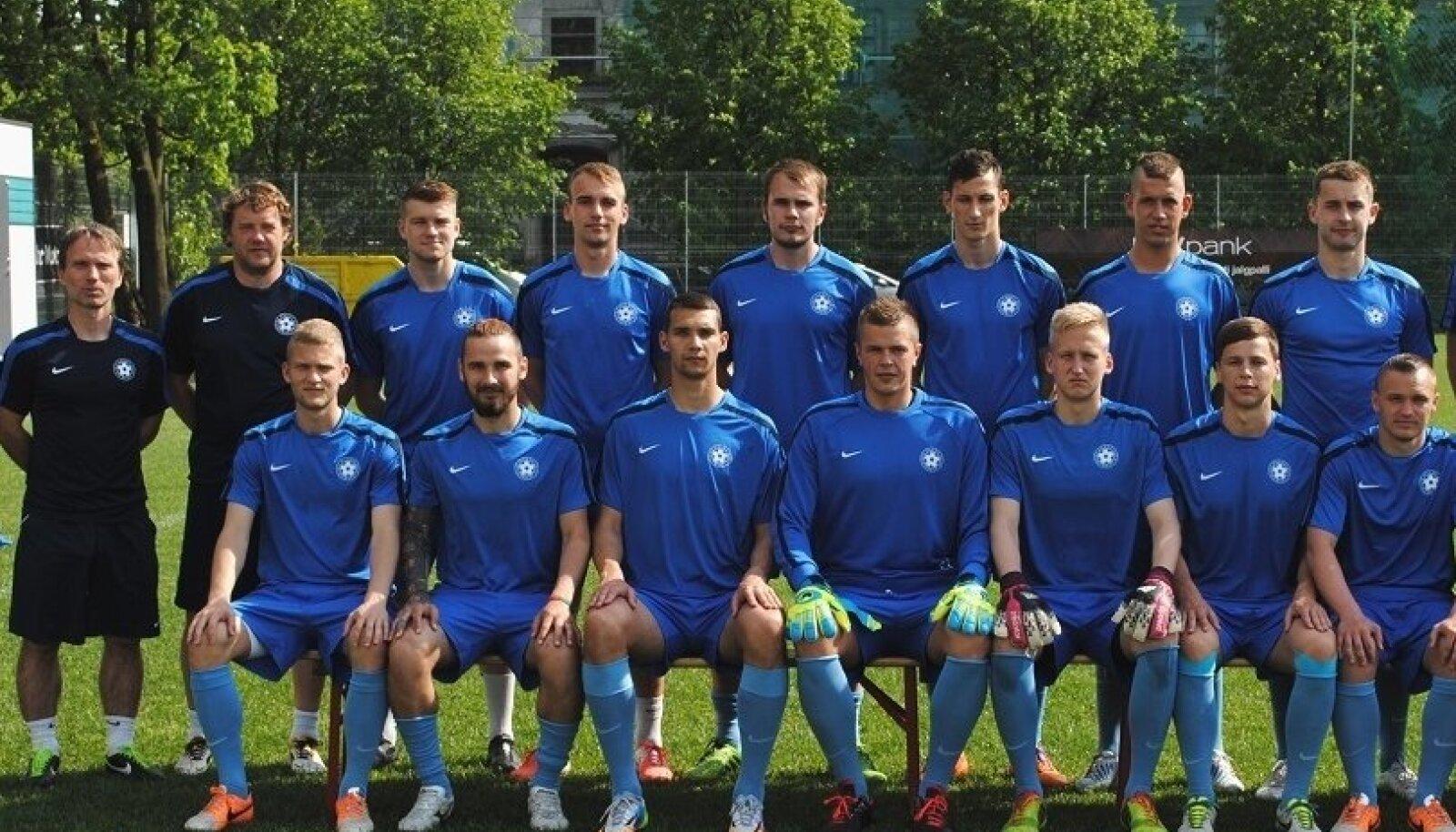 Eesti U23 jalgpallikoondis