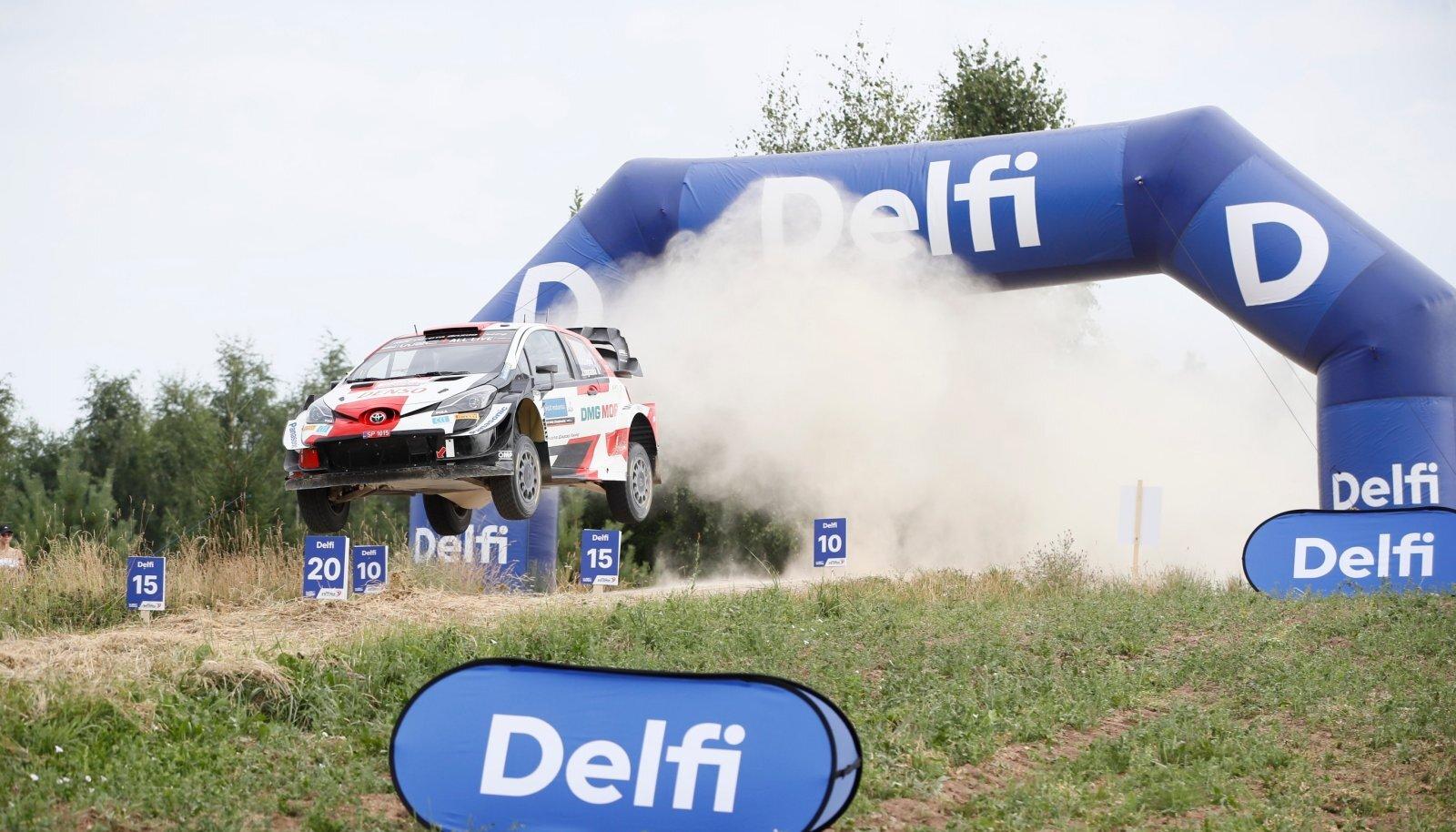 Sebastien Ogier Rally Estonial.