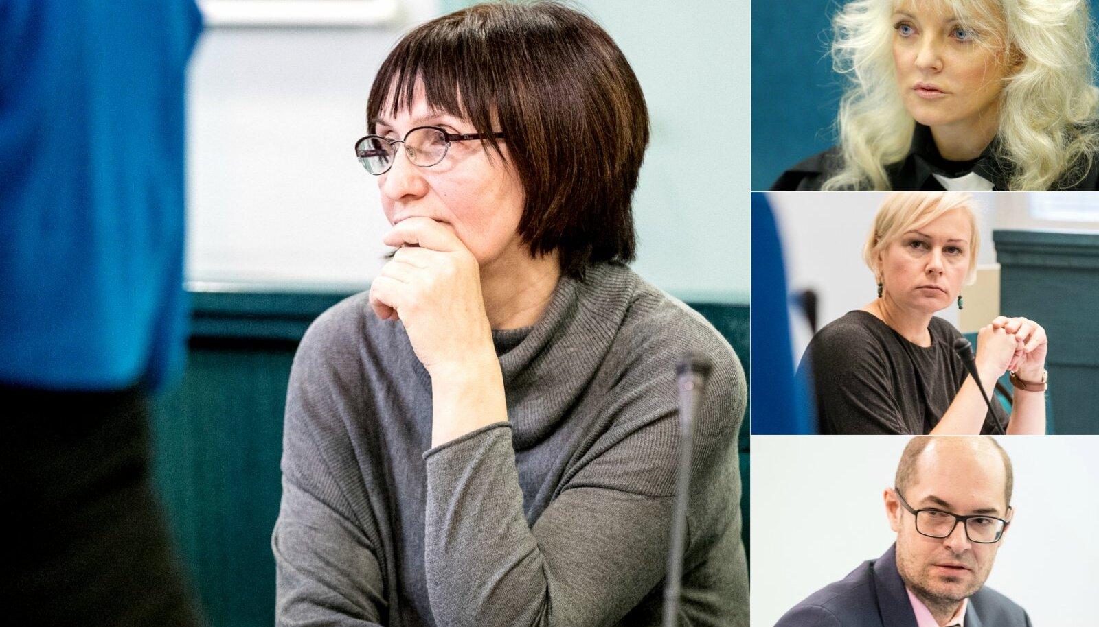 VAIKIB: Meditsiiniõde Nadežda Soosaar (vasakul) pole oma versiooni juhtunust veel esitanud. Ta keeldus ka Ekspressile kommentaare andmast.