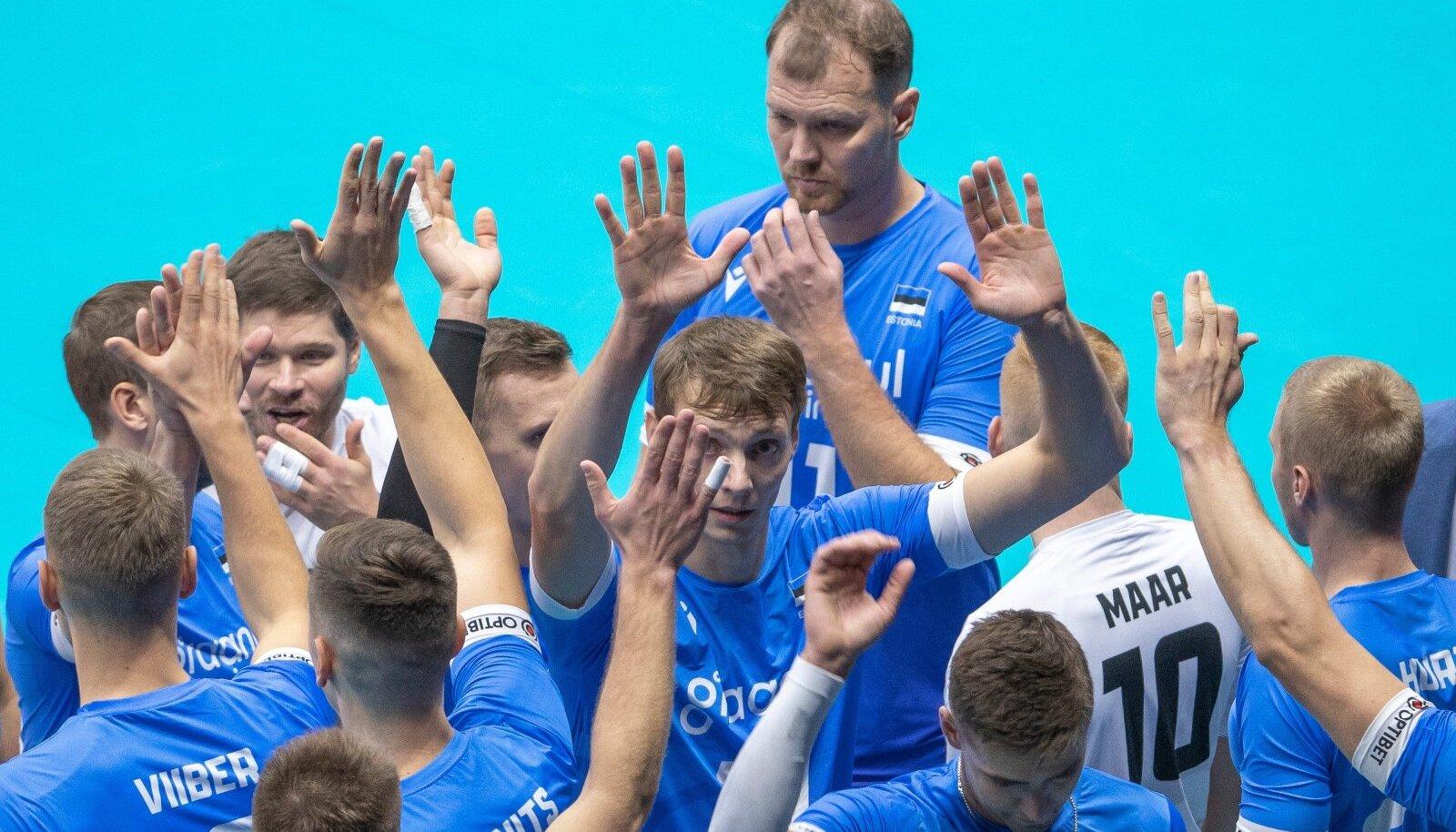 Eesti võrkpallikoondisel on täna võimalus teha suur samm 1/8-finaali poole.
