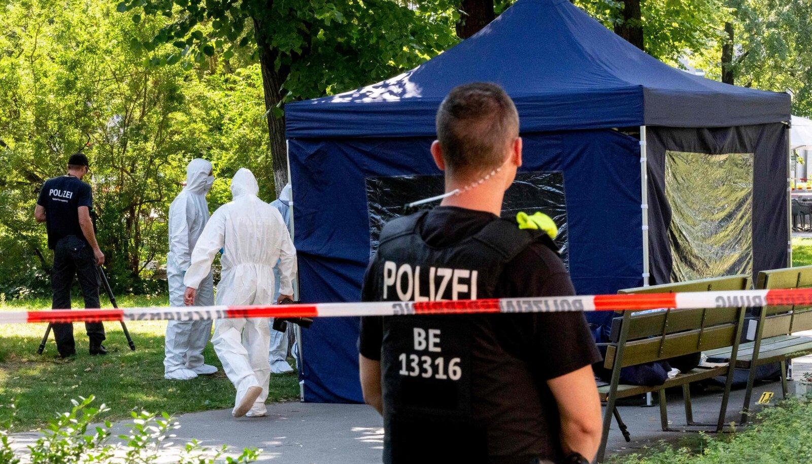 23. august, Zelimhan Hangošvili mõrvapaik Berliinis