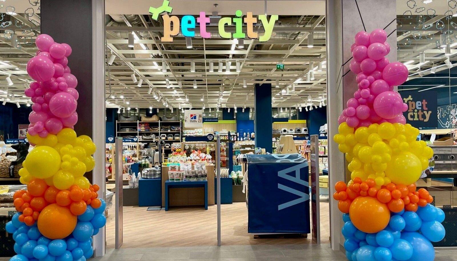 PetCity uus kauplus Kristiine keskuses