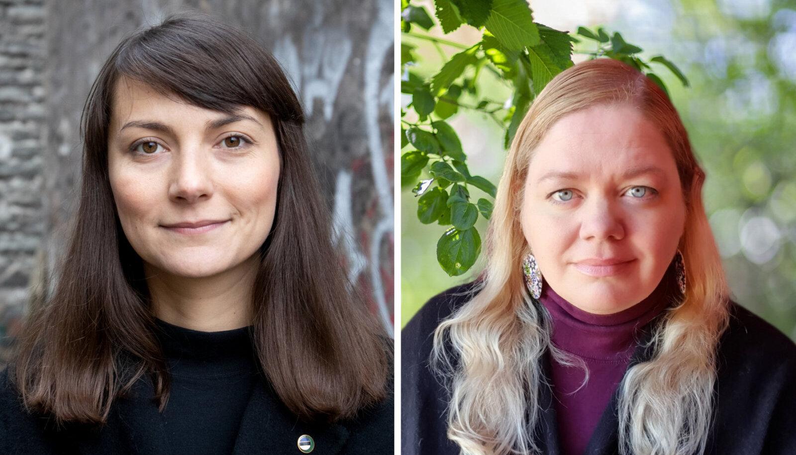 Zuzu Izmailova ja Katrin Jõgisaar