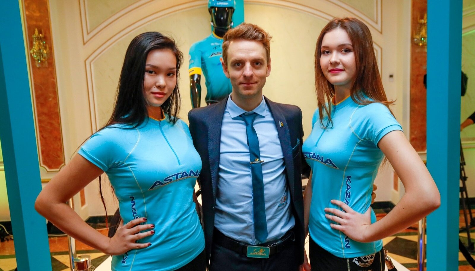 Presentation Astana Pro Team 2017