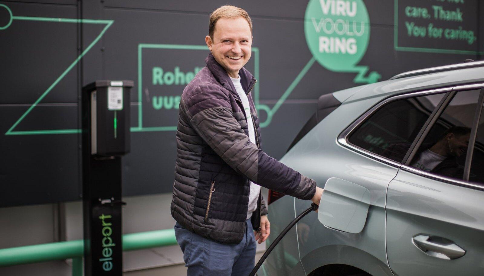 """Eleporti juht Raul Potisepp usub, et meid ootab ees elektriautode torm. """"Autotootjad näevad, et elektrifitseerimiseta ei saa."""""""