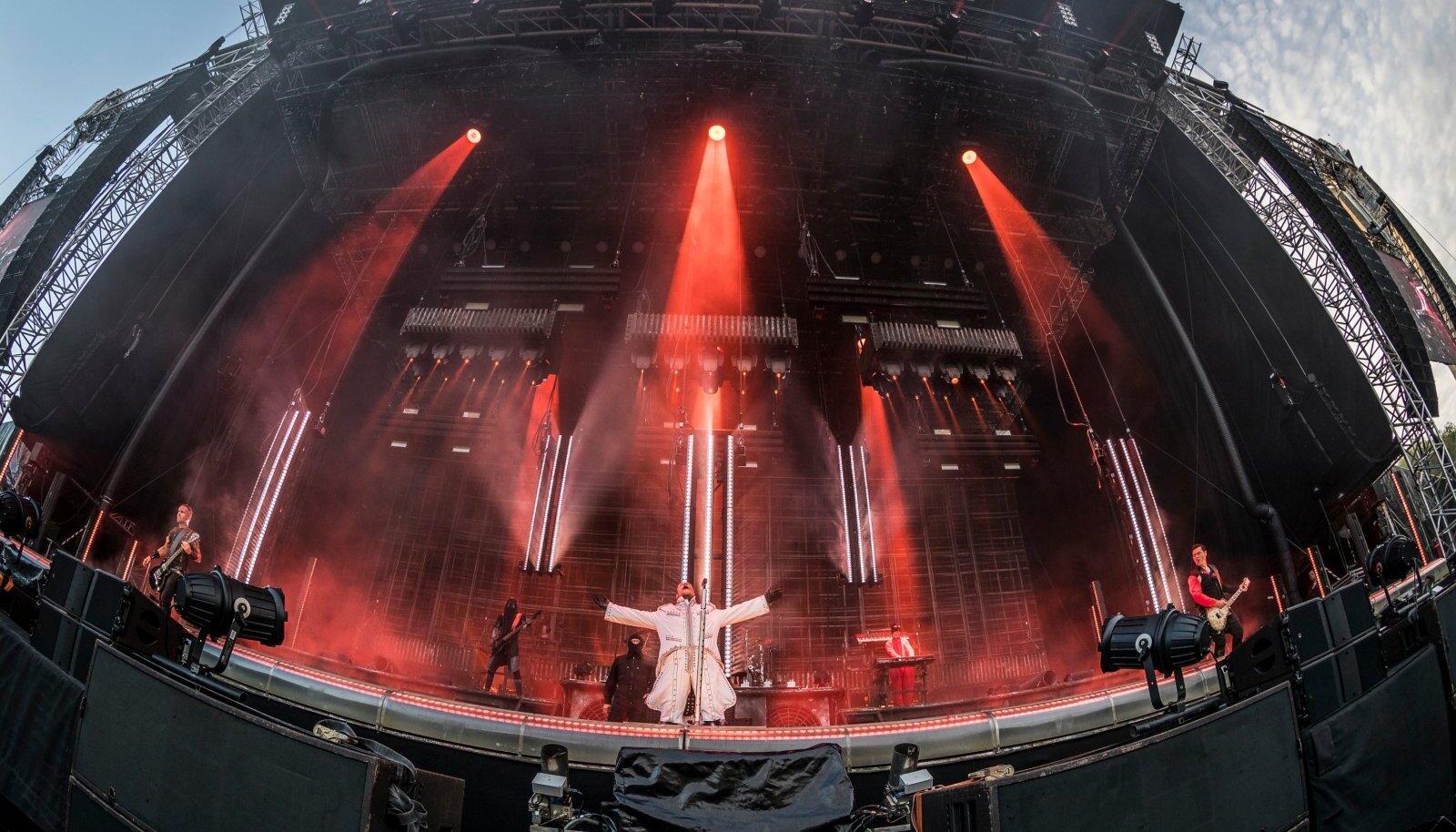 Rammsteini kontsert Tallinna lauluväljakul