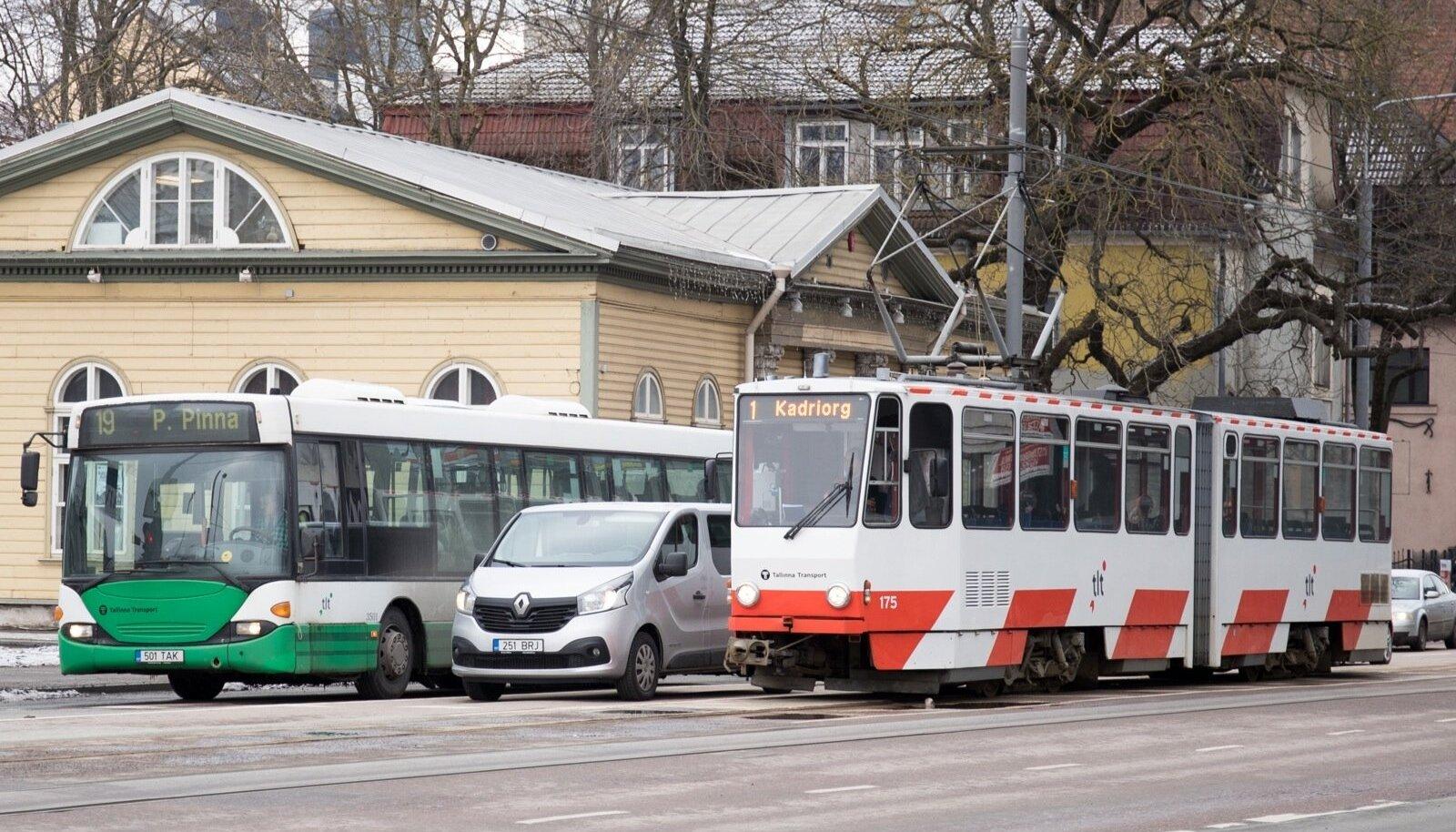 Liiklus Tallinna kesklinnas