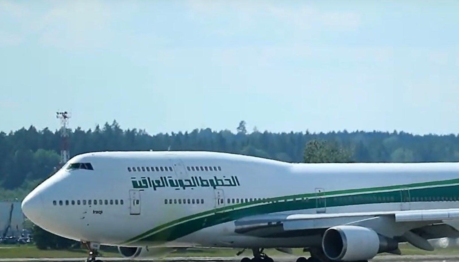 Iraqi Airwaysi Boeing 747 Minskis