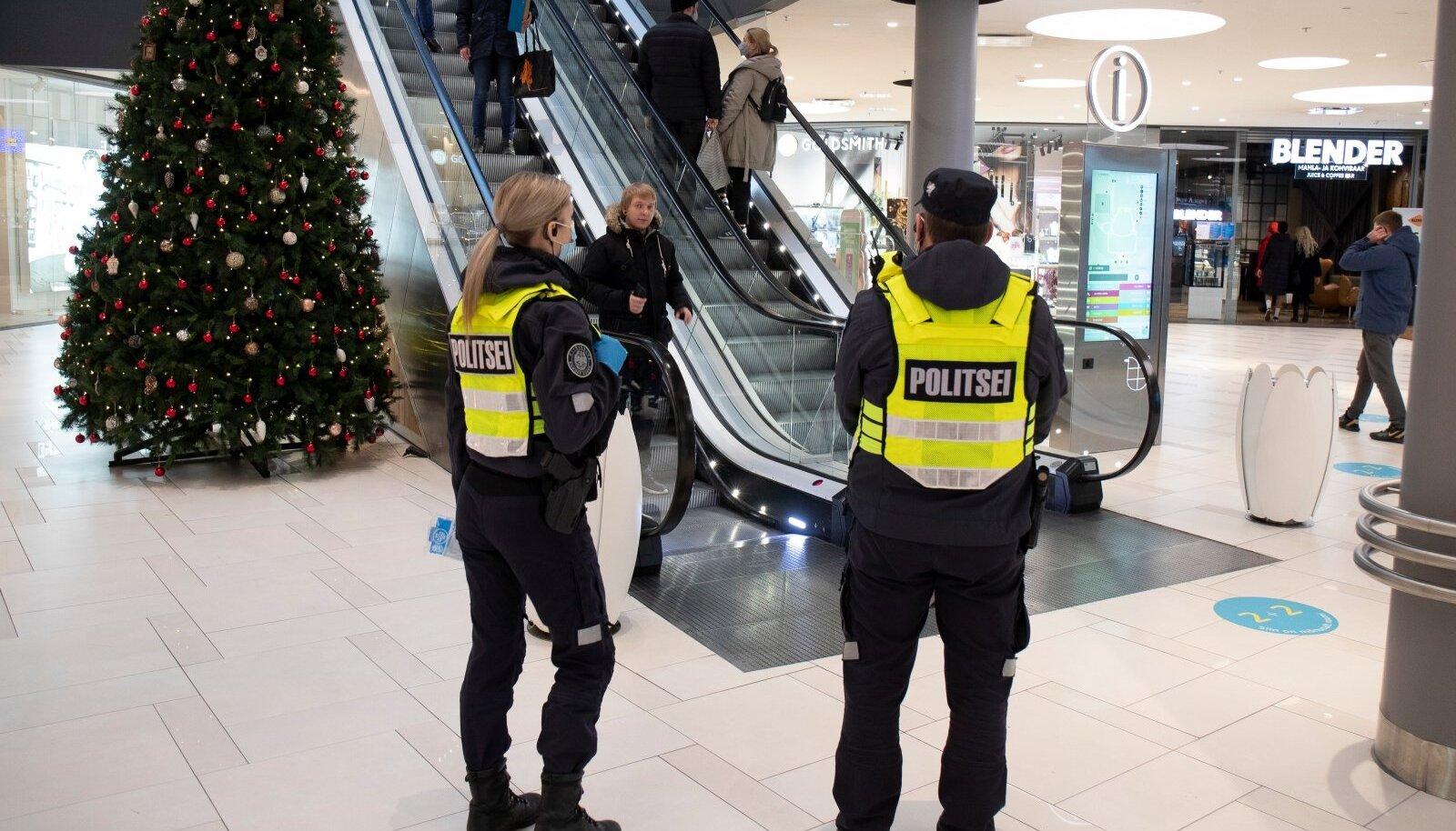 Politsei jagab näomaske 6.12.2020