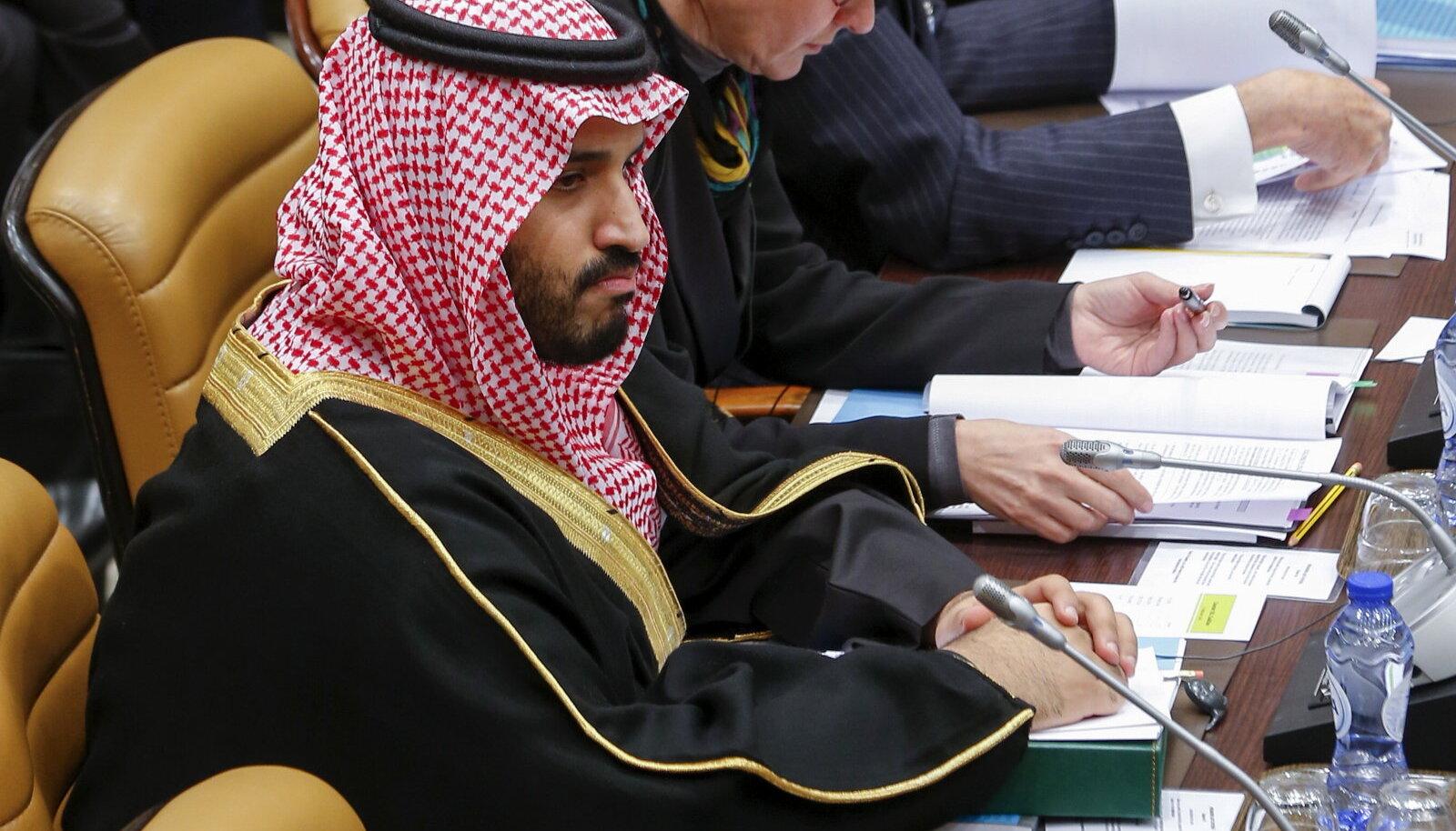 Saudi Araabia asekroonprints Mohammed bin Salman