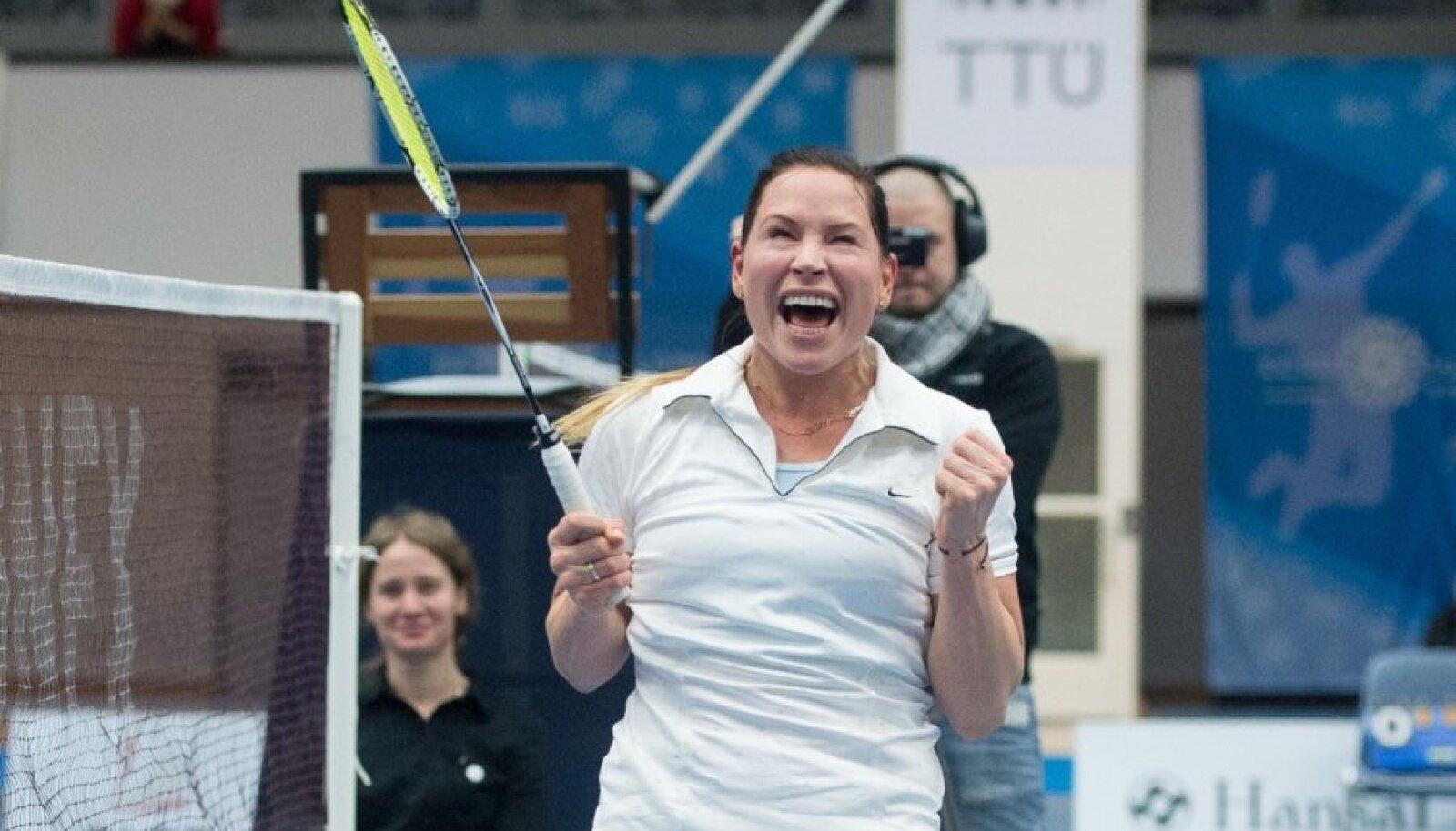 Kati Tolmoffi comeback sai alguse talvel Eesti meistrivõistlustel, kus ta võitis kolm kulda.