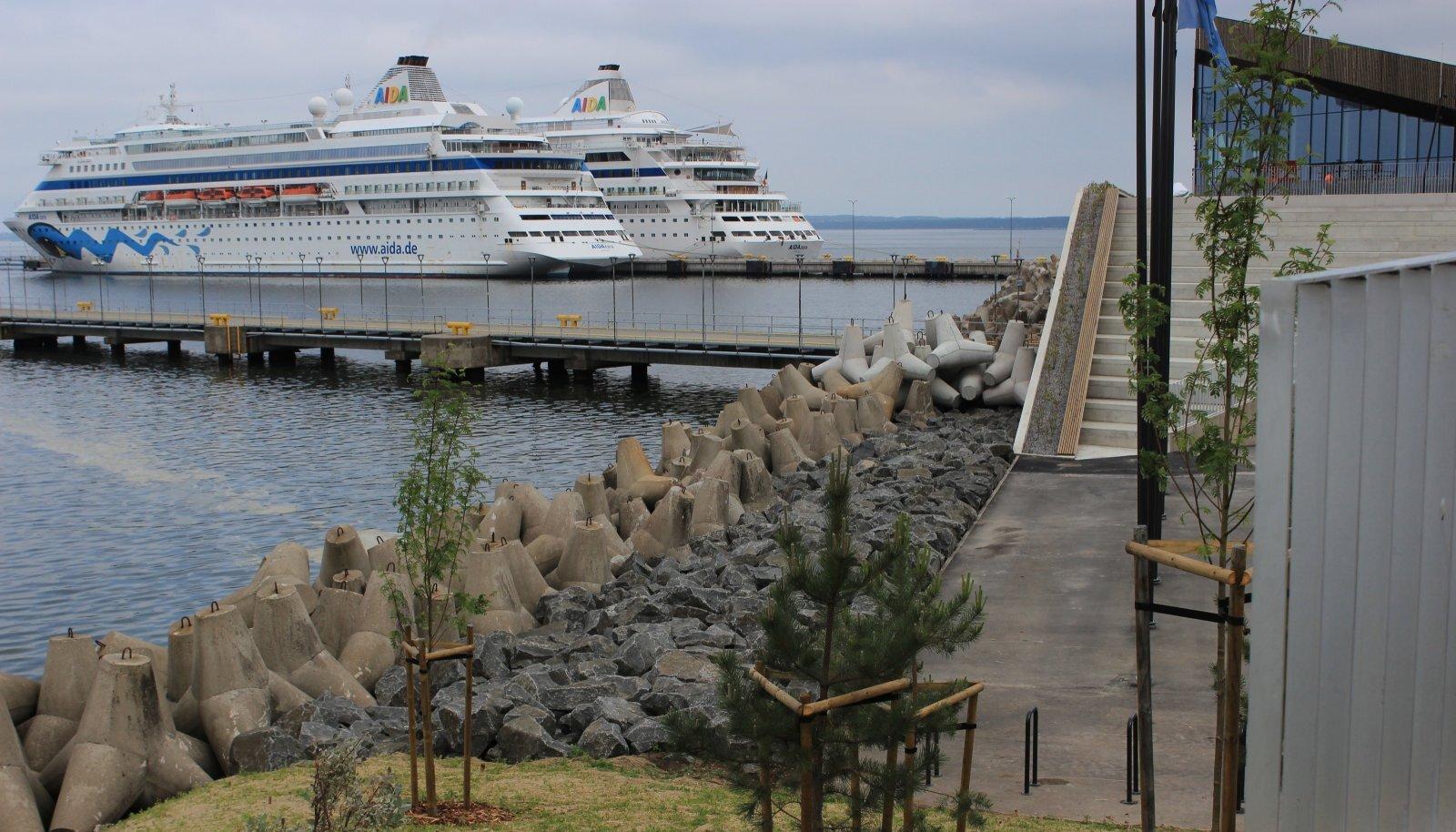 """Tallinna kruiisisadama promenaad valmistub muusikalise suurlavastuse """"Ookean"""" esietenduseks"""