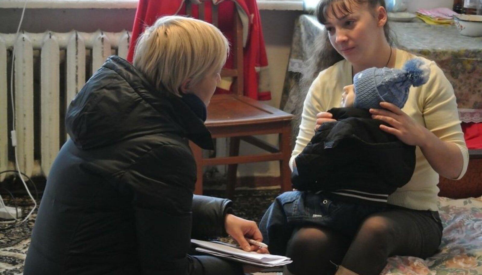 Ukraina sõjapõgenikud