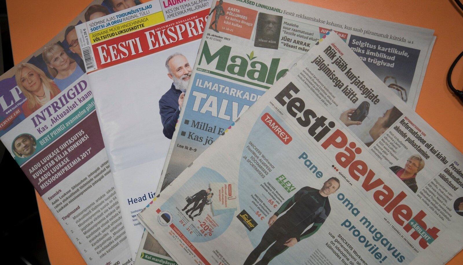 Ajalehed