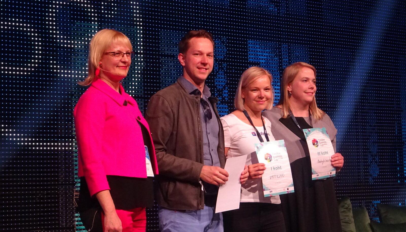 Creative Business Cup Eesti eelvõistluse võitjad sõidavad Taani globaalsele võistlusele