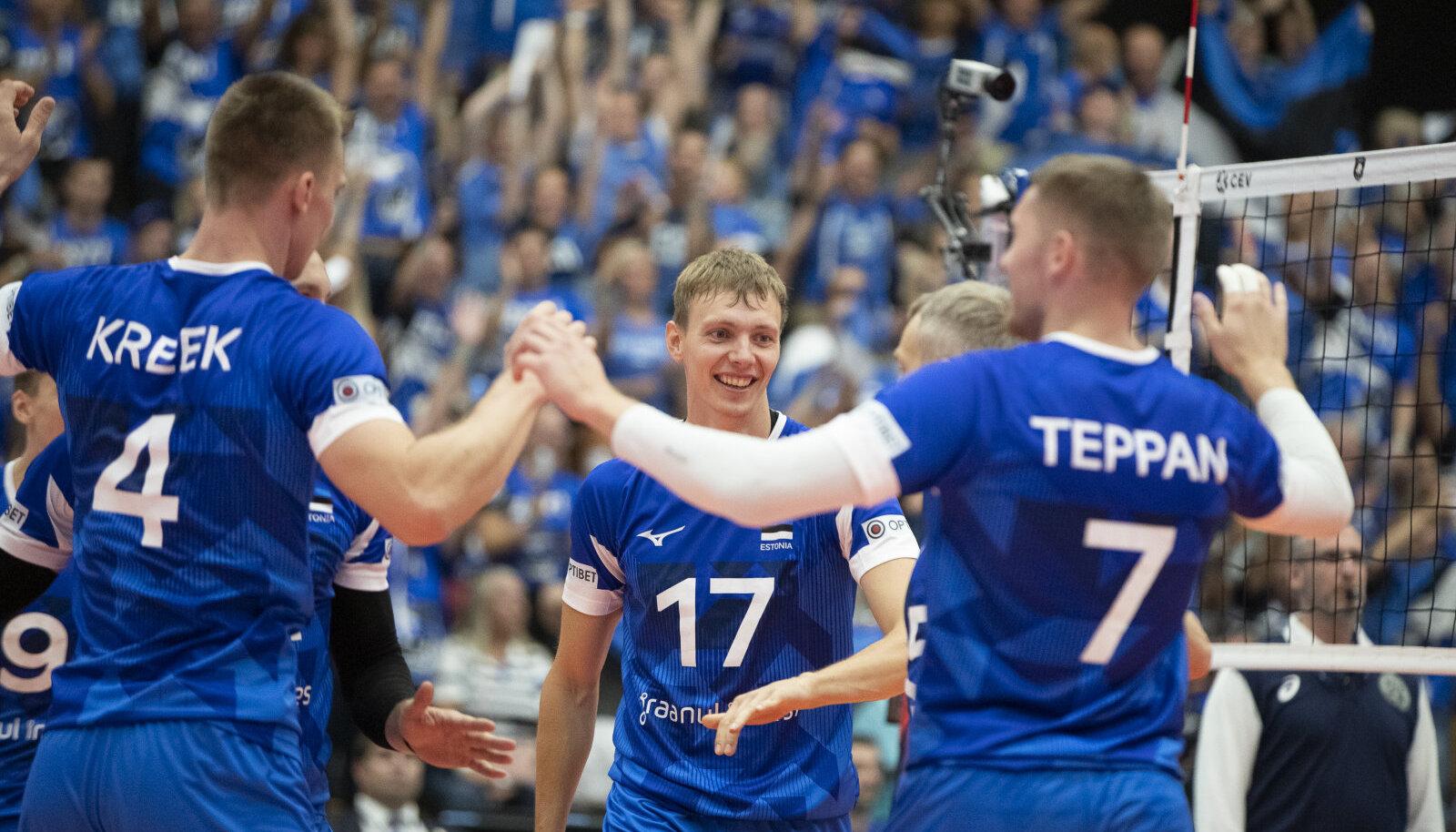Eesti võrkpallimeeskond