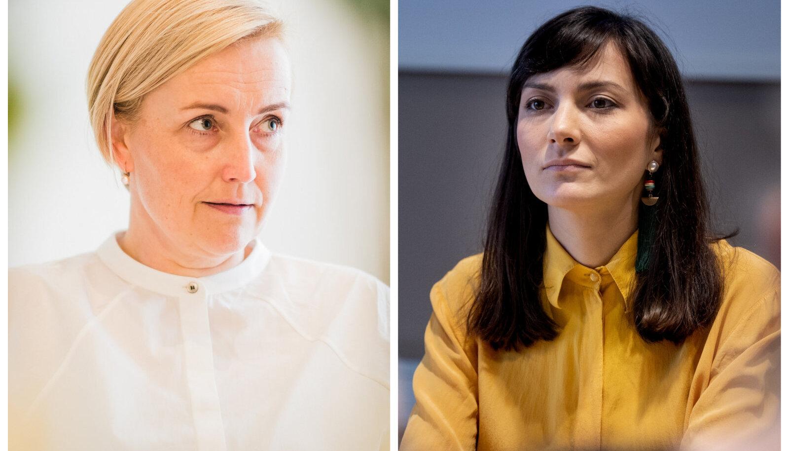 Kristina Kallas ja Züleyxa Izmailova