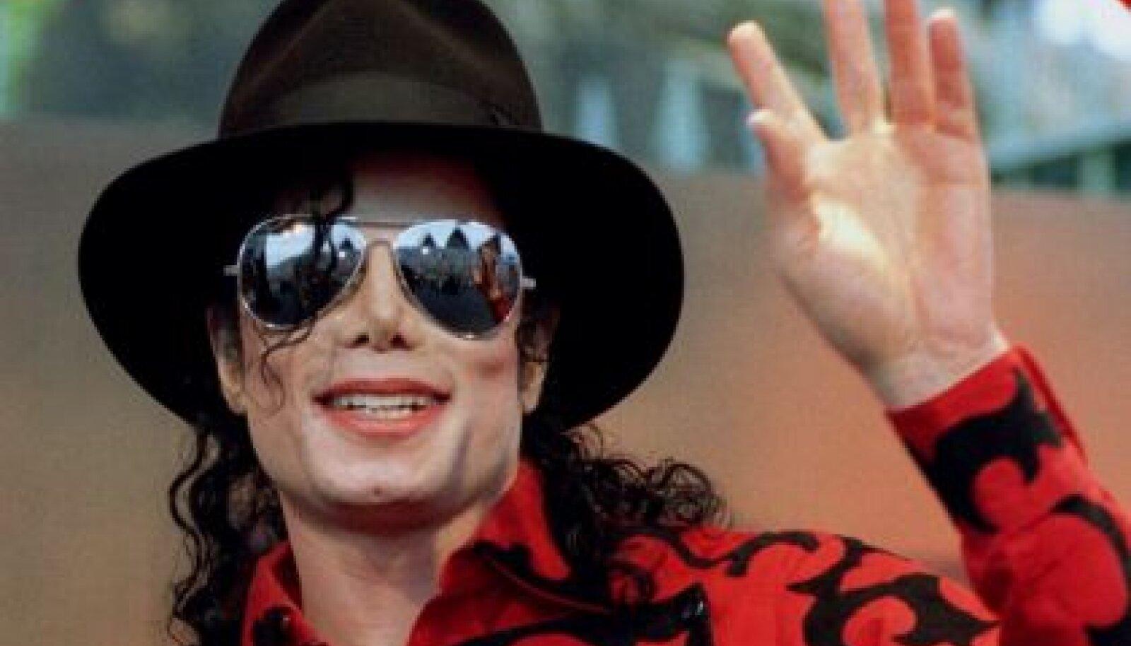 Michael Jackson novembris 1996