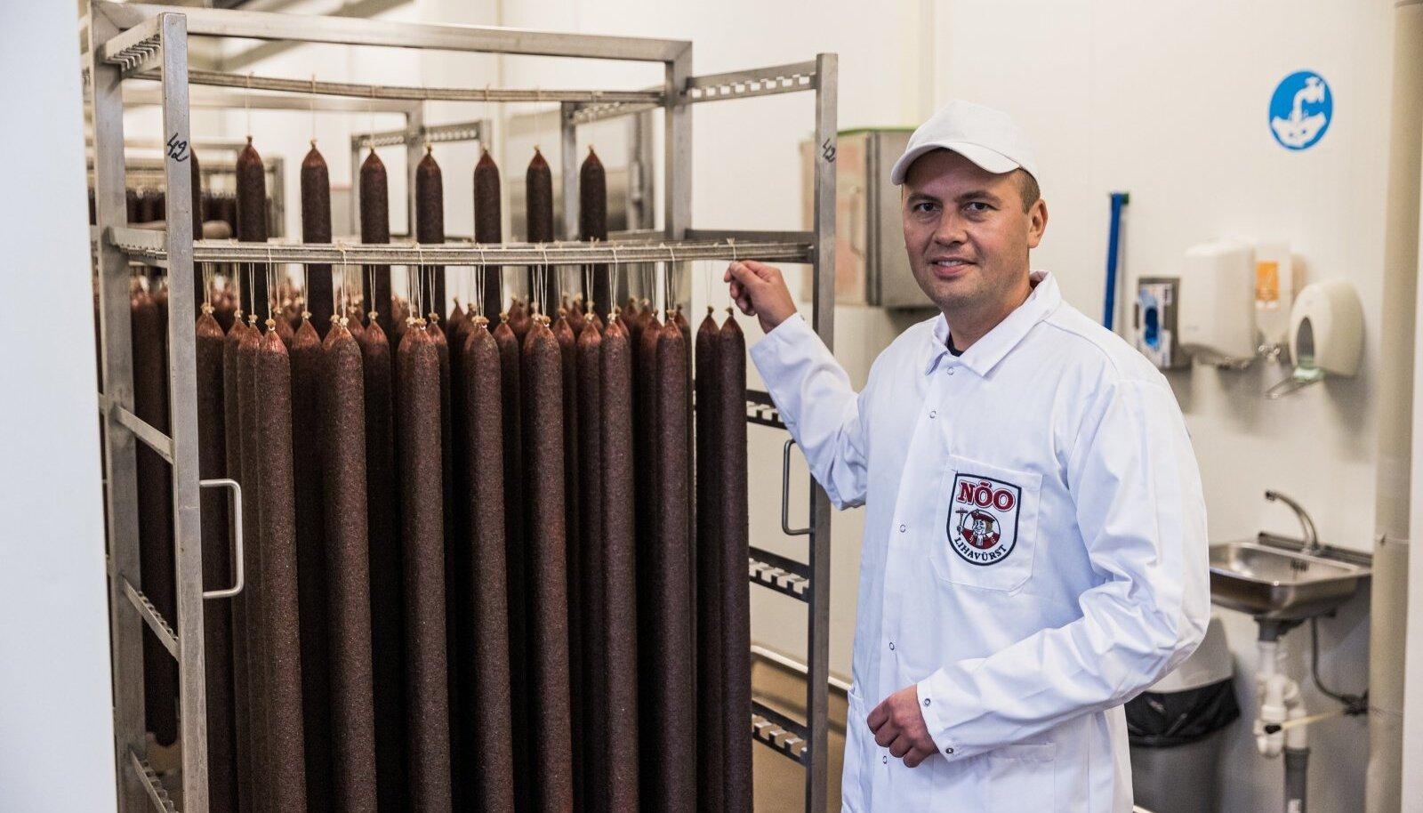 Simmo Kruustük ütles, et Nõo Lihatööstuses on veerand töötajatest renditööjõud.
