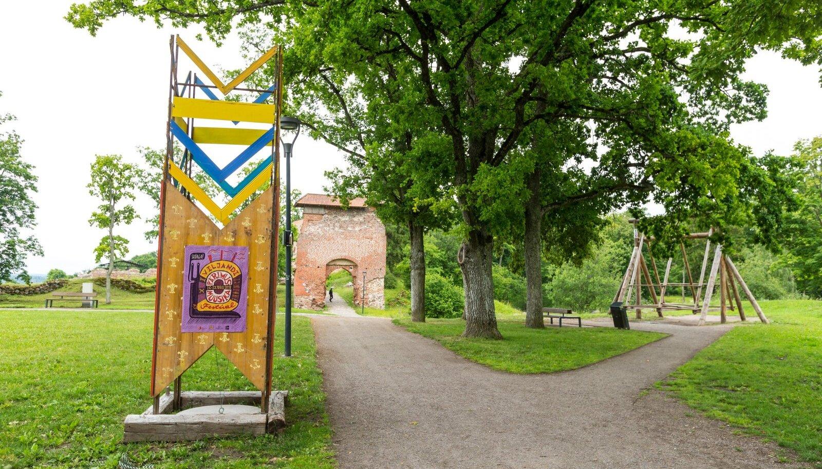 Viljandi lossimäed suvi '18
