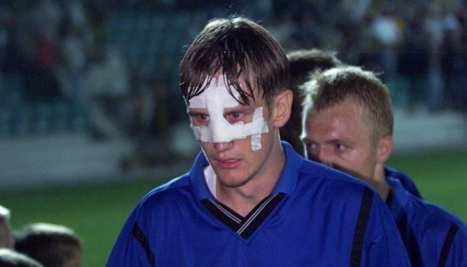 Eesti-Küprose mäng aastal 2001.