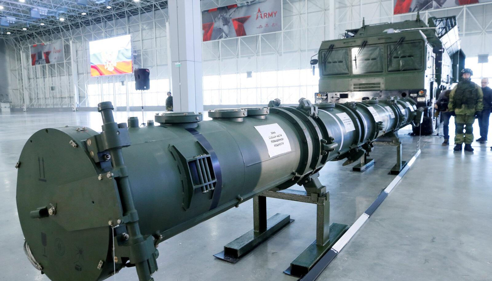 Vene rakett SSC-8, mida USA peab relvastusleppe rikkumiseks