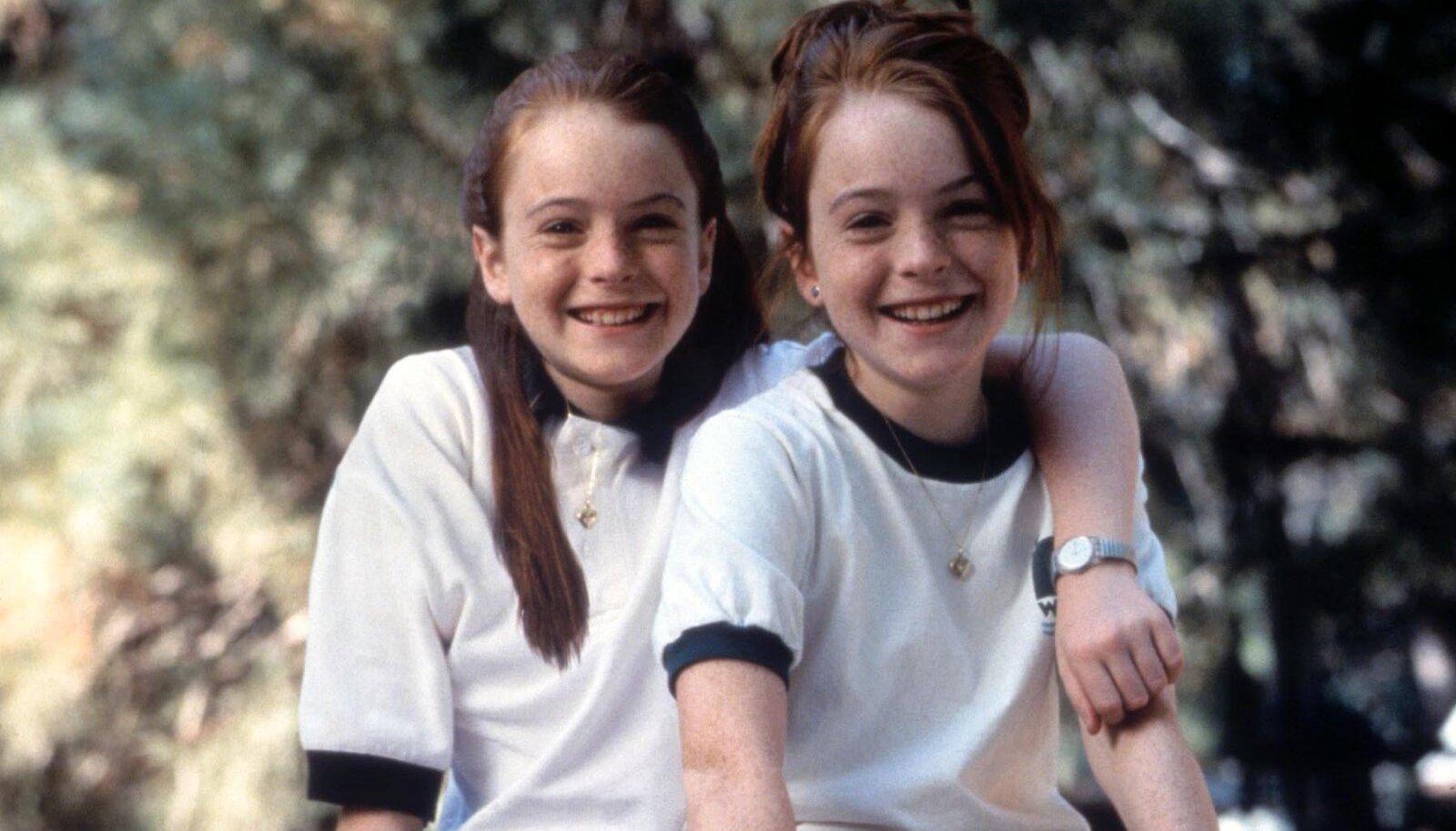 "Lindsay Lohan filmis ""Nagu kaks tilka vett"" (""The Parent Trap"", 1998)"