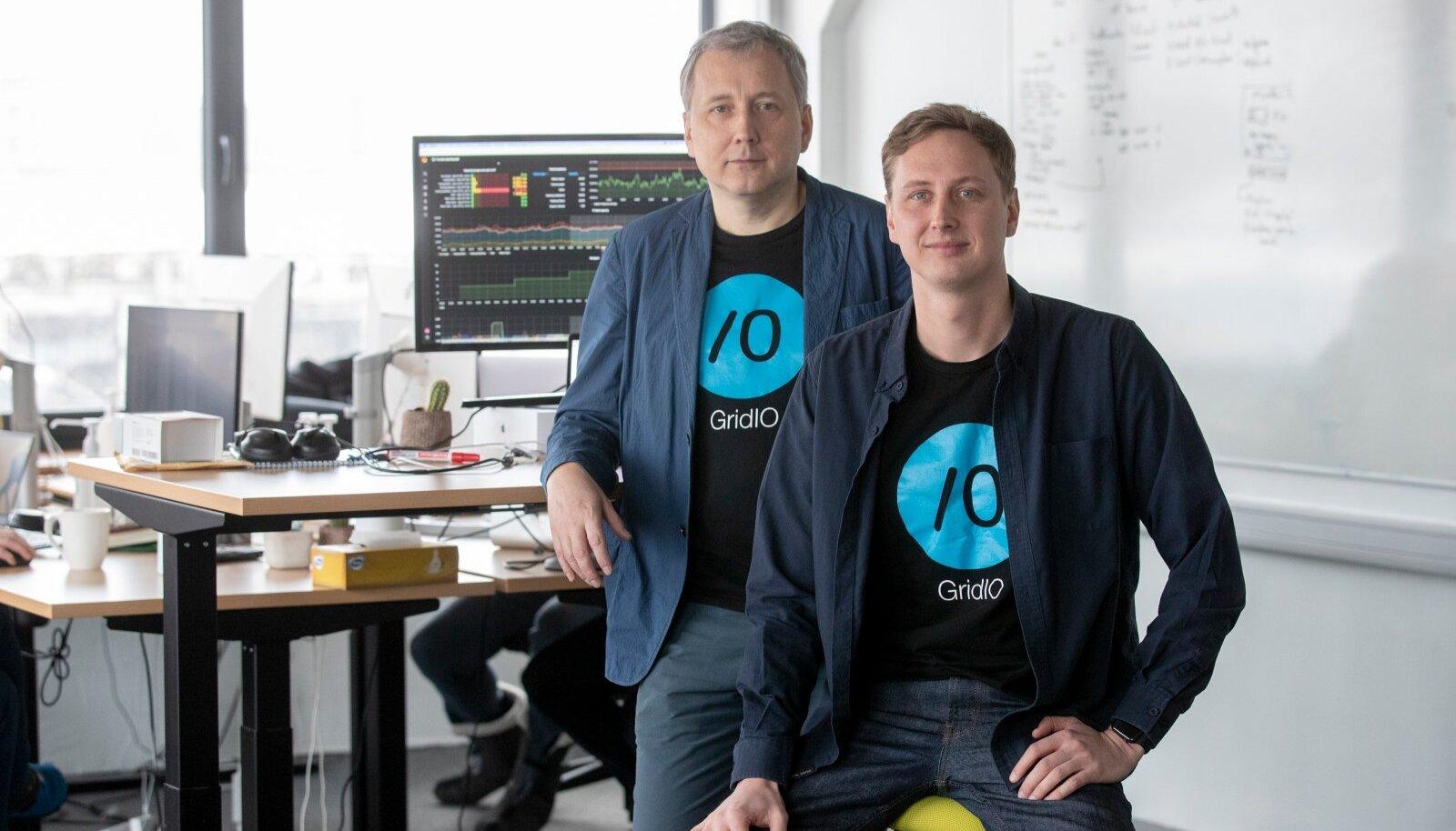 Gridio asutajad Sandor Liive ja Konrad Hanschmidt