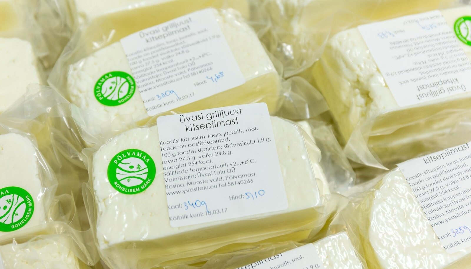 Väikemeiereide juustude müük peaks pärast ausate kaubandustavade seaduse vastuvõtmist kergemaks minema.