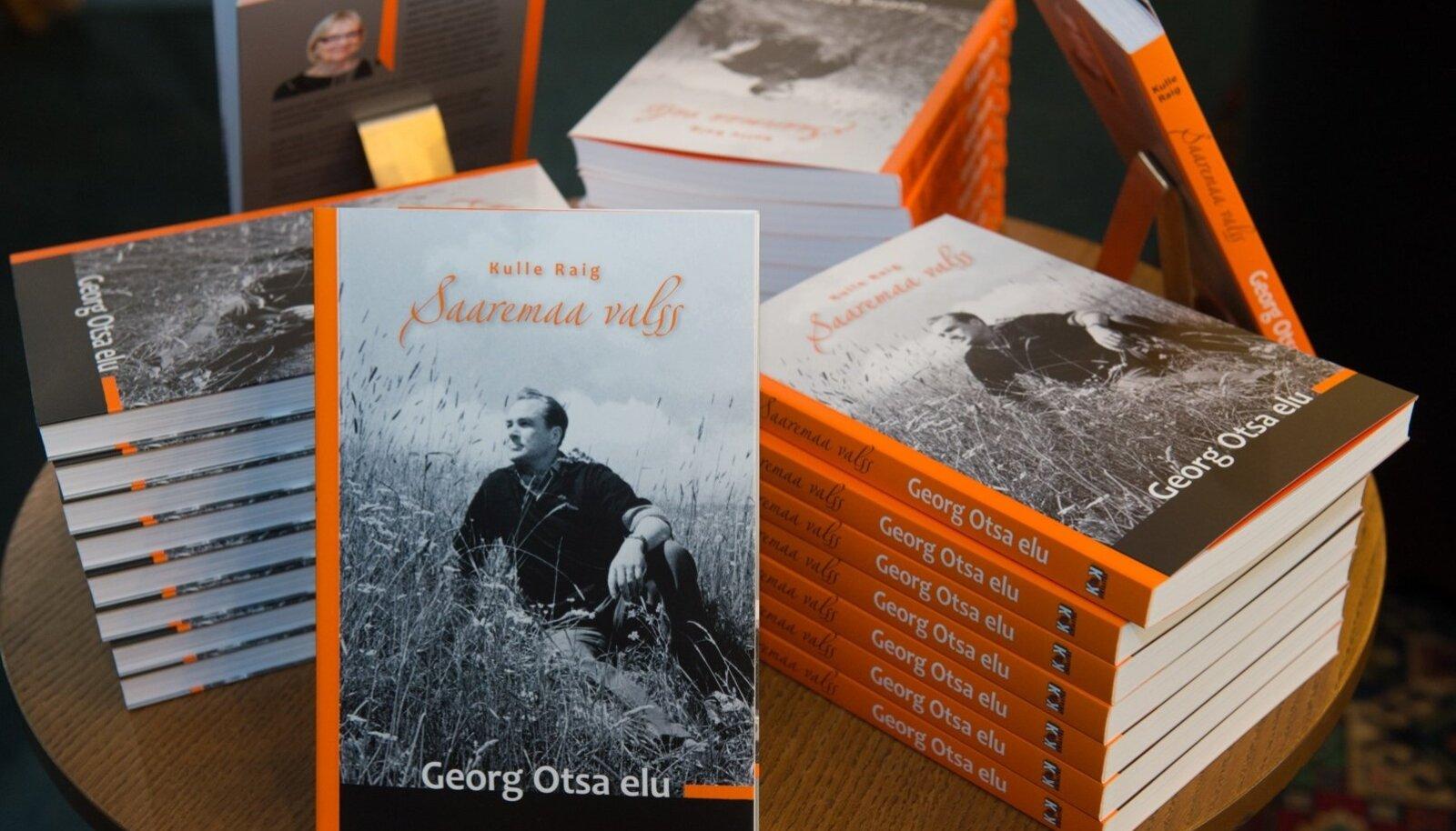 """Raamat """"Saaremaa valss. Georg Otsa elu""""."""