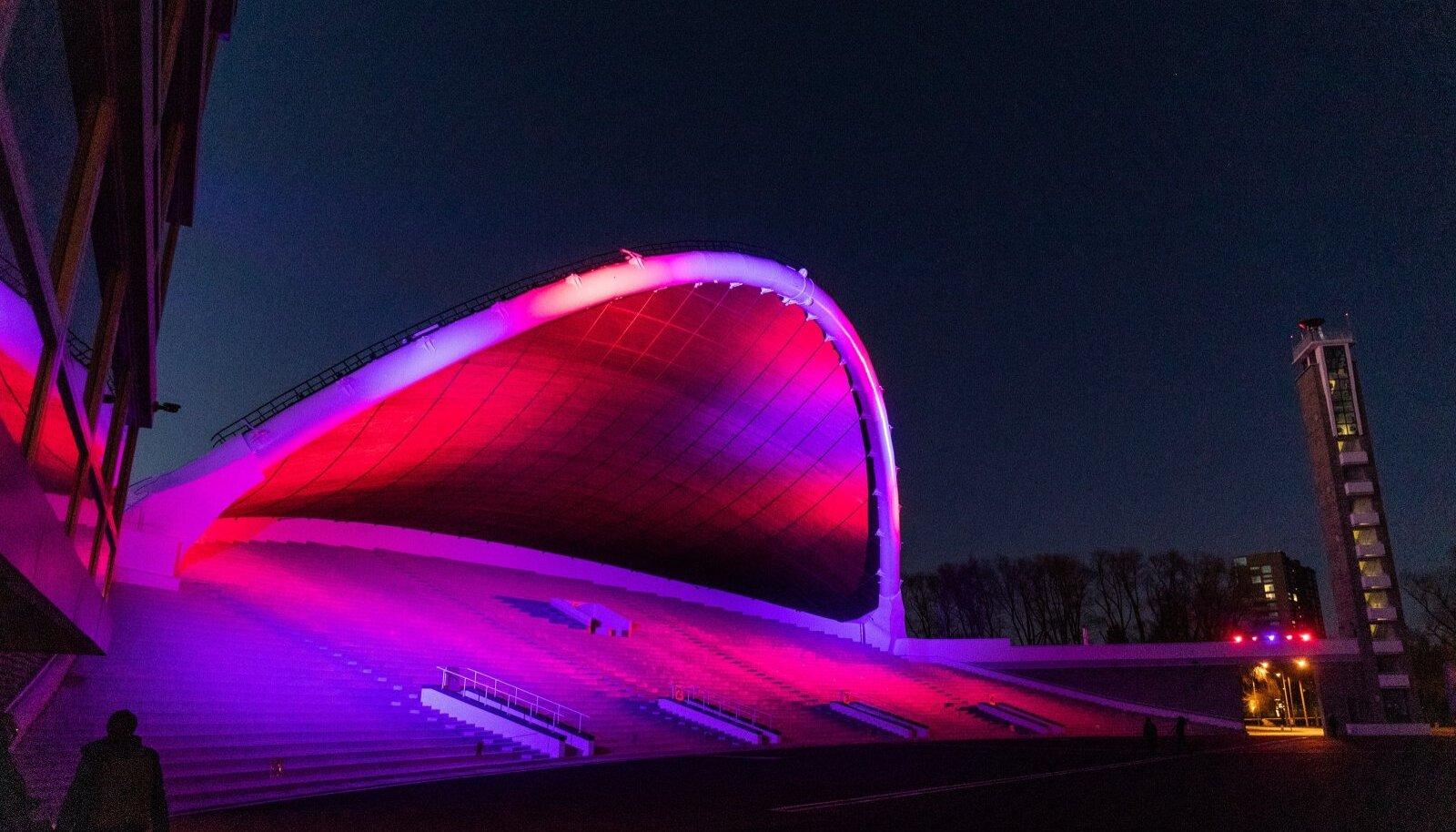 Tallinna Lauluväljaku valgustus