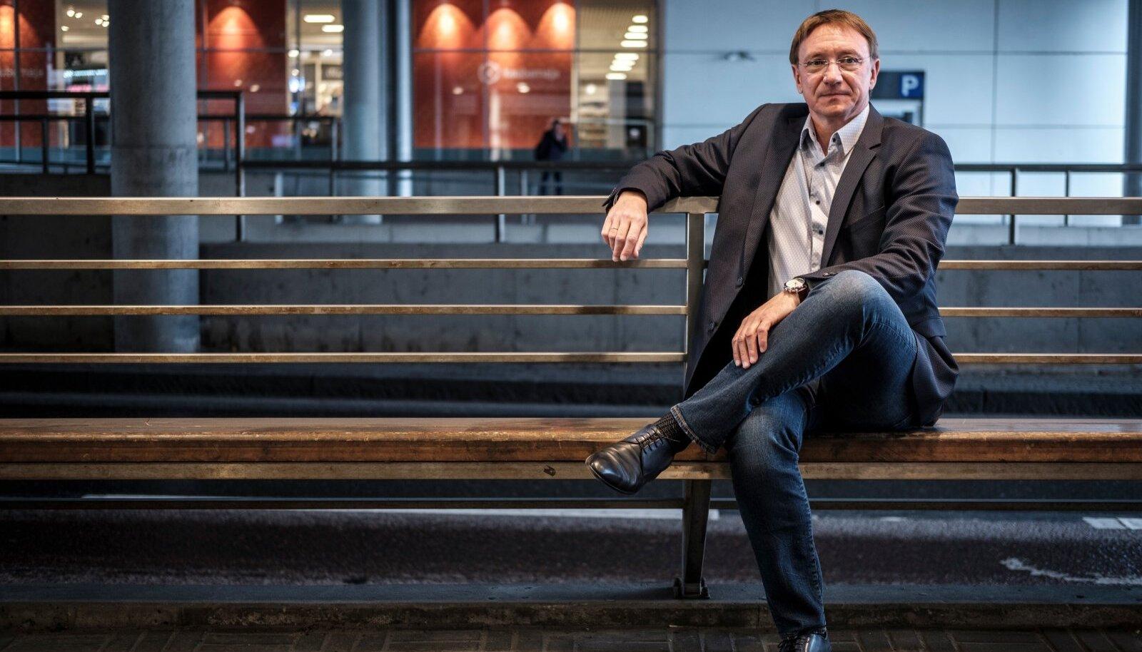 Tallinna Kaubamaja Grupi juht Raul Puusepp
