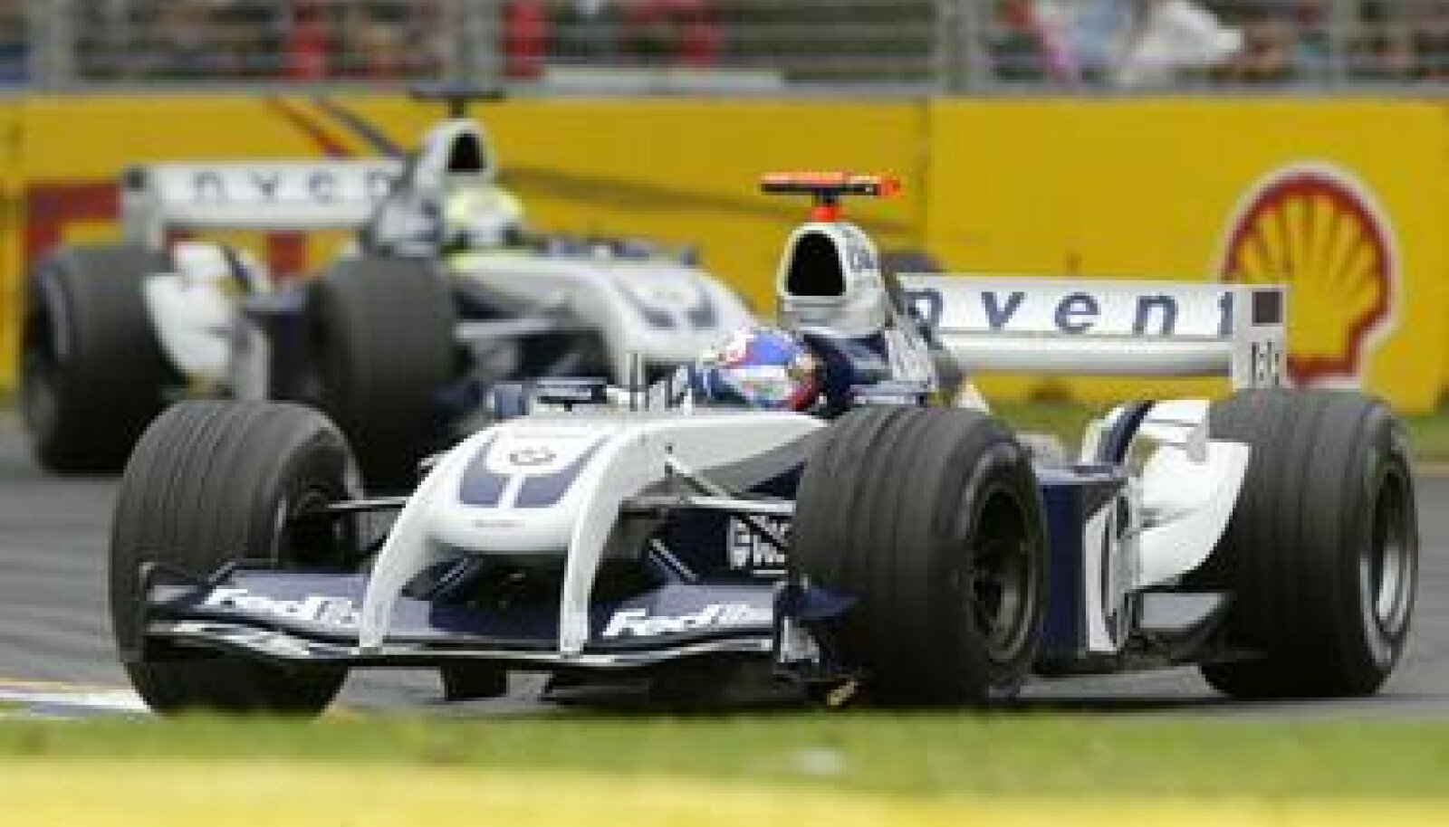 Juan Pablo Montoya ja Ralf Schumacher Austraalia GP-l
