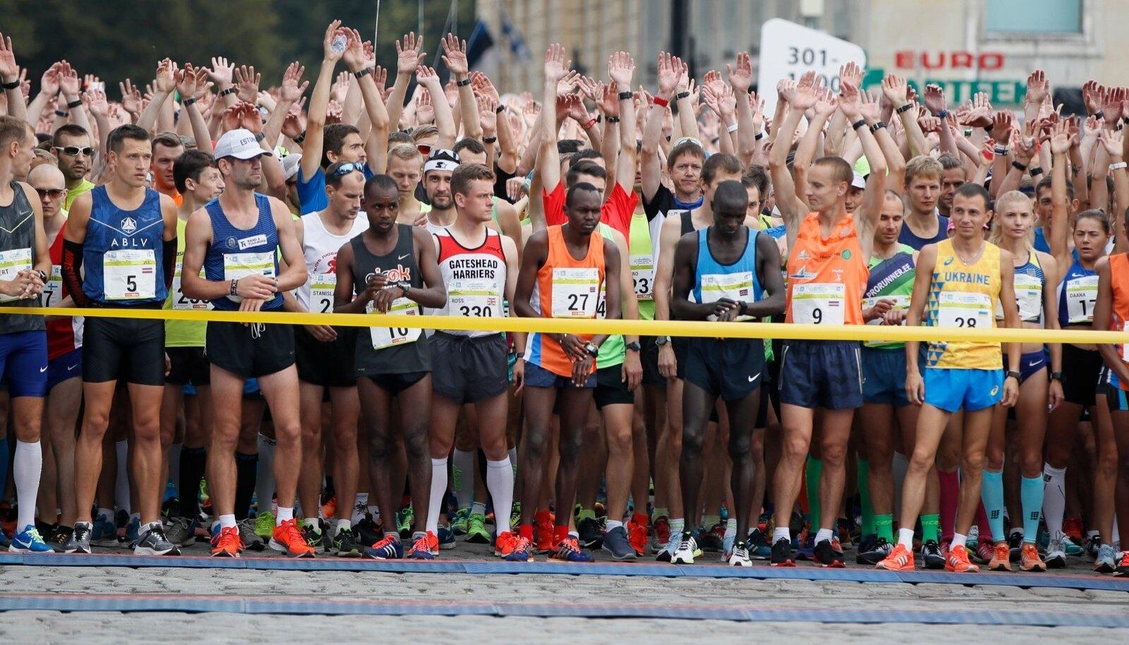 Tallinna maraton 2018.