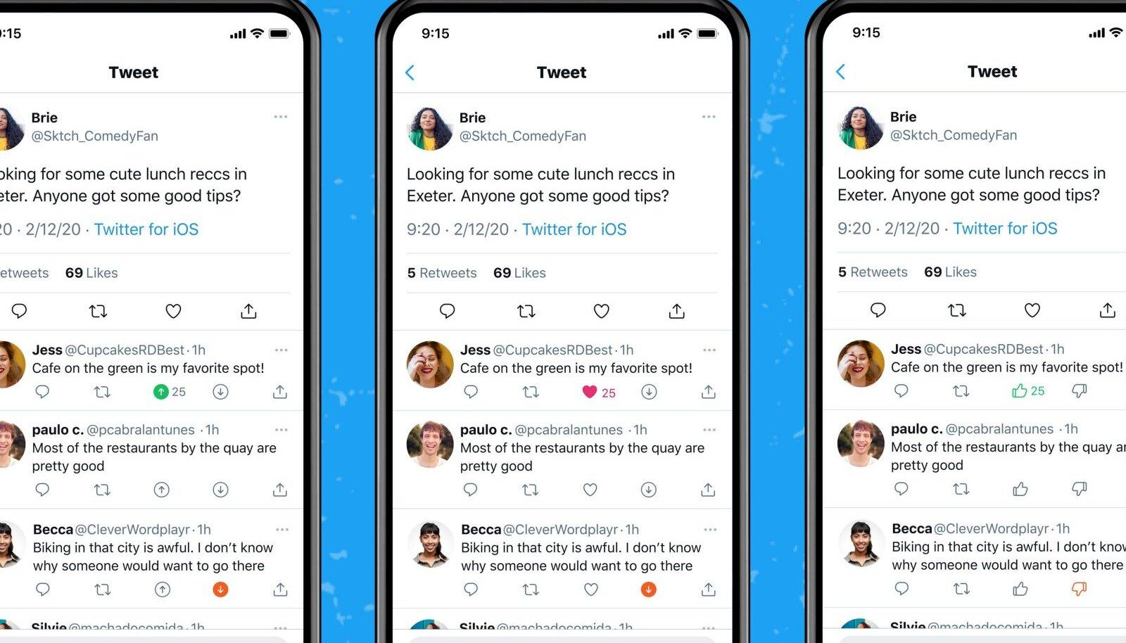 Twitteri katsetatav lahendus