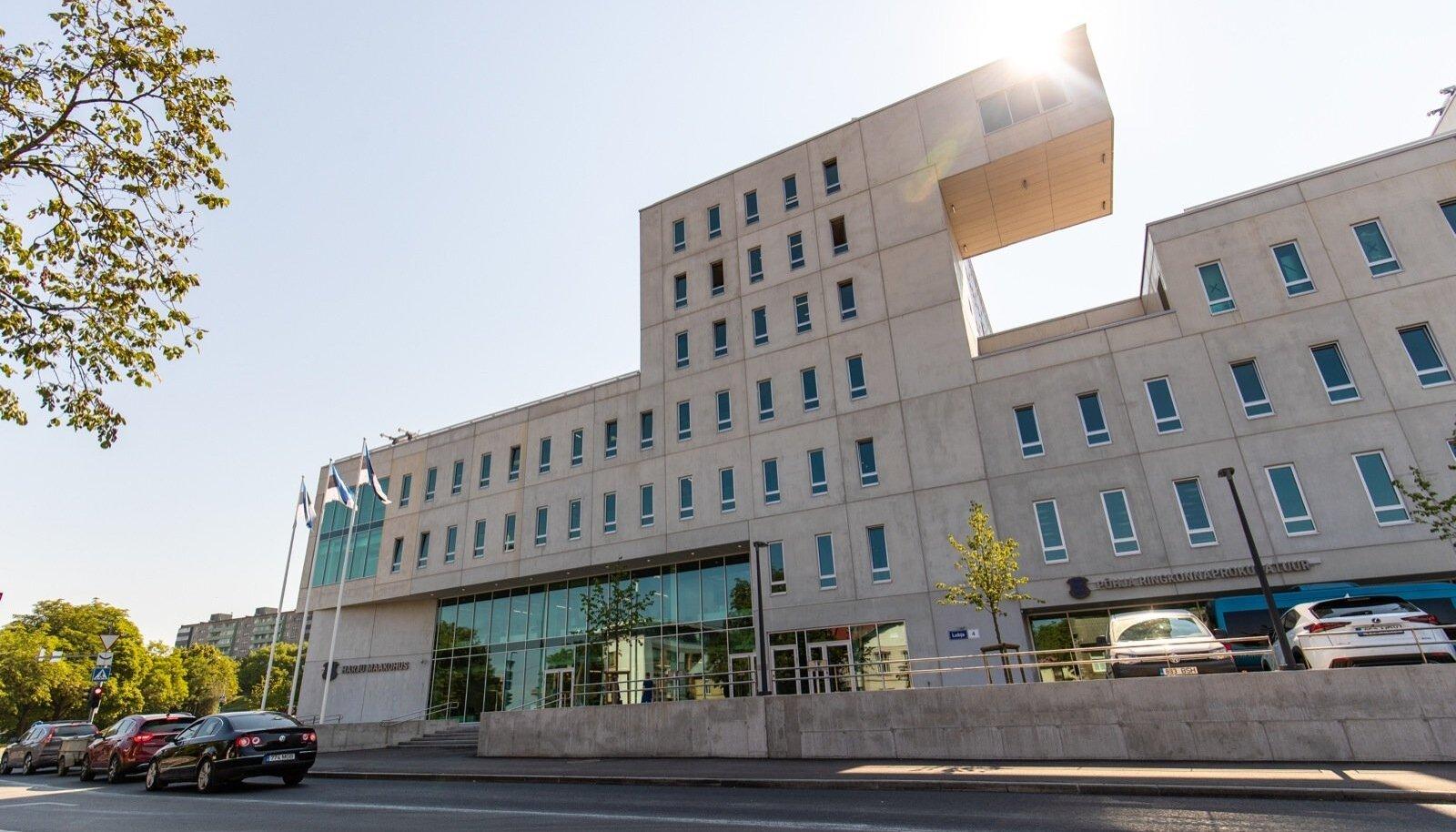 Harju maakohtu ja Põhja ringkonnaprokuratuuri uus hoone