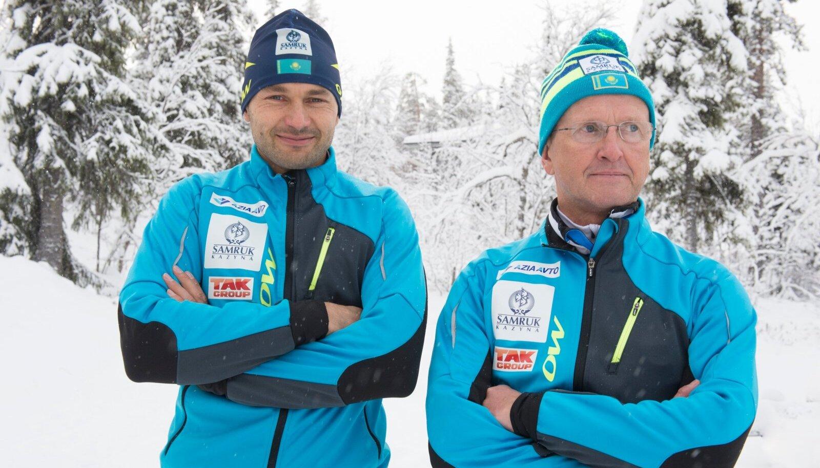 Andrus Veerpalu ja Mati Alaver