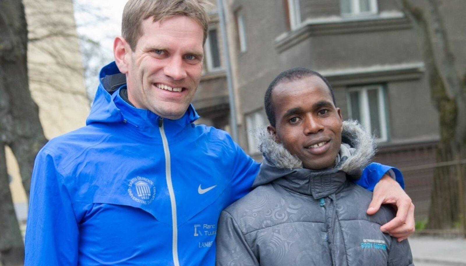 Ibrahim Mukunga Wachira ja Tiidrek Nurme