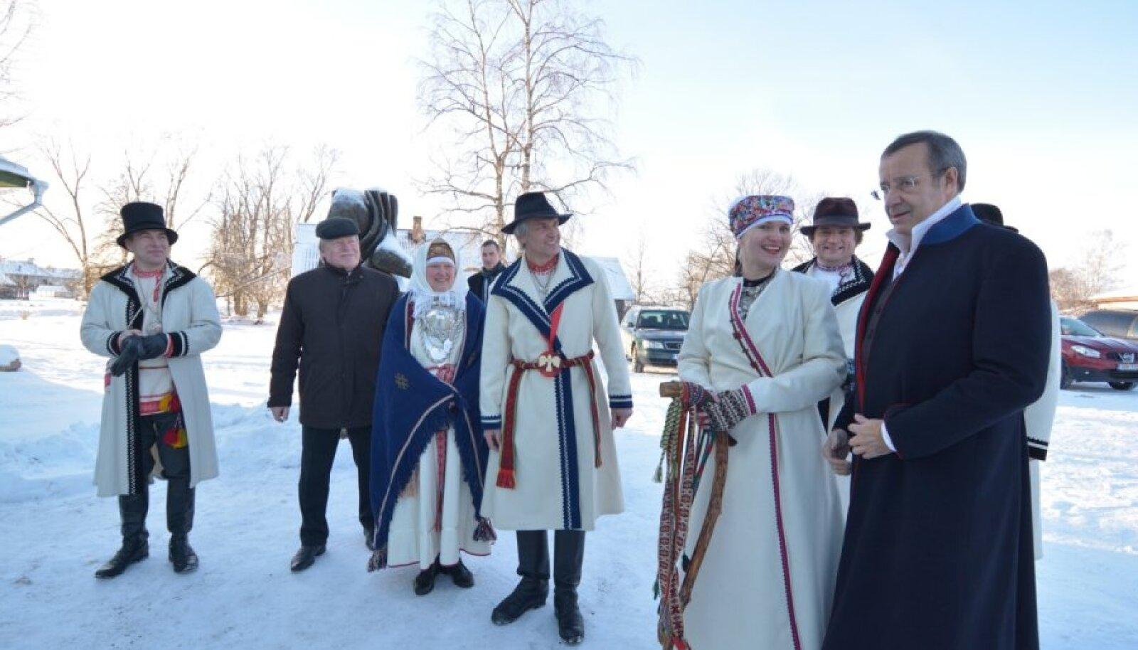 Avatseremoonial osales ka president Toomas Hendrik Ilves.