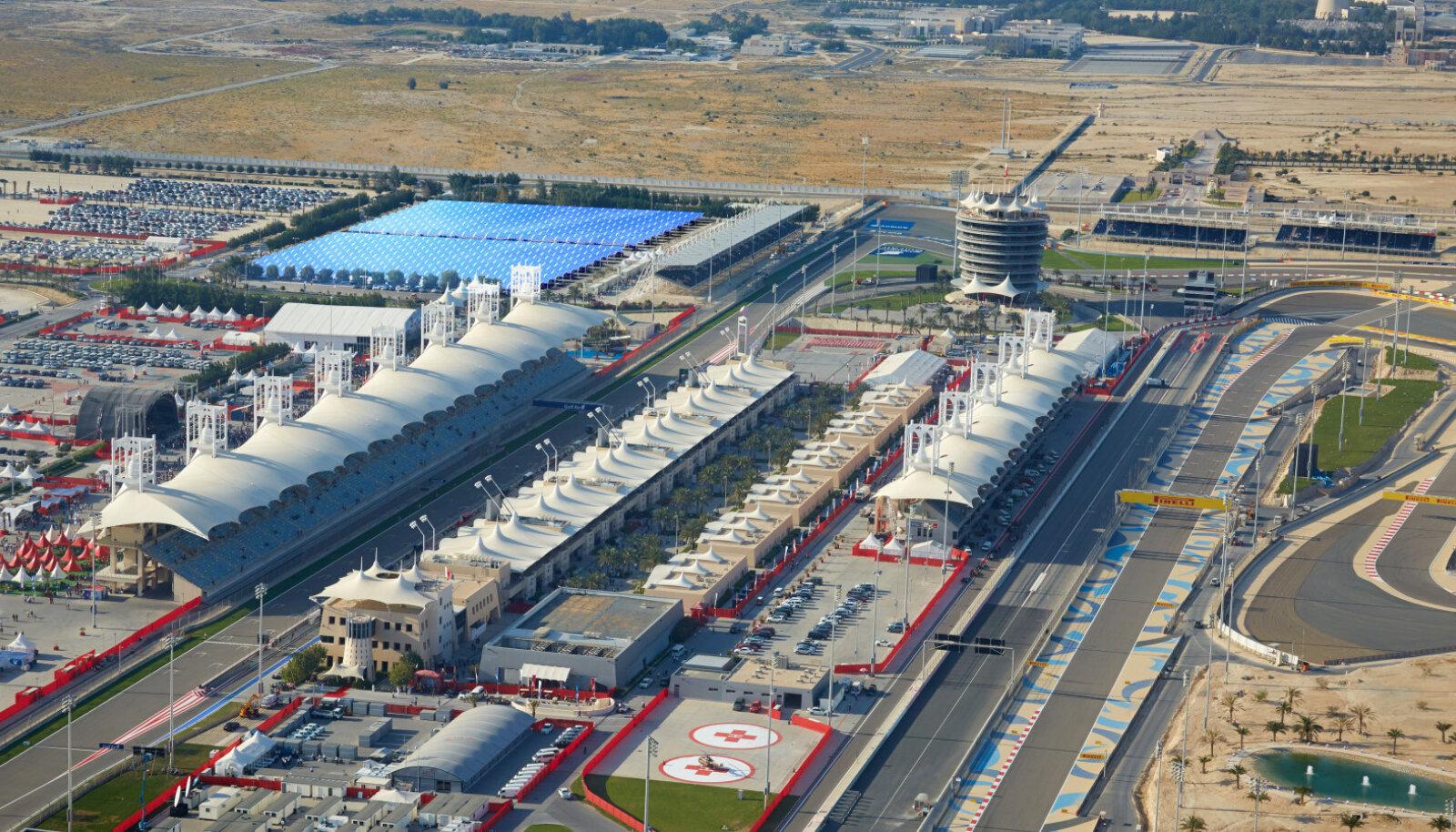 Aerofoto Bahreini Sakhiri ringrajast.