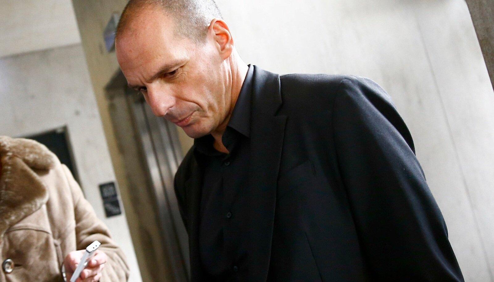 Kreeka rahandusminister Yanis Varoufakis